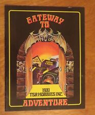 Vintage Dungeons & Dragons 1981 Catalog Board Game Role Playing TSR Hobbie
