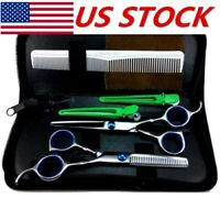 Professional Salon Hair Cutting Thinning Scissors Barber Shears Hairdressing Kit