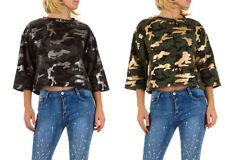 Damen-Pullover & -Strickware mit Camouflage-Muster