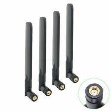 4 x 6dBi WiFi RP-SMA 2.4GHz 5GHz Dual Band Flat Antennas for TP-Link Archer