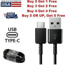 For OEM Samsung Galaxy Note8 9 10 S8 S9 S10 Fast Charger Cord Type-C USB-C Cable
