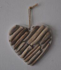 "Driftwood ""Horizontal Heart"" Bathroom Shabby Chic Hand Crafted Charm Home Decor"