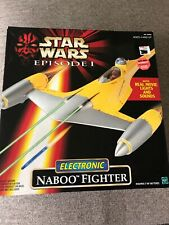 STAR WARS EPISODE 1 ELECTRONIC NABOO FIGHTER NEW SEALED 1998