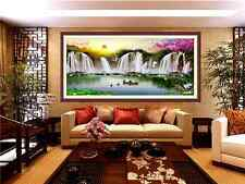 """NEW printed girds living room cross stitch """"rising sun from eastern-2"""""""