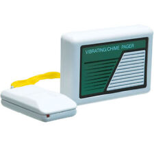 SAFEGUARD WIRELESS VIBRATING/CHIME RECEIVER/PAGER W/PUSH BUTTON TRANSMITTER 6969