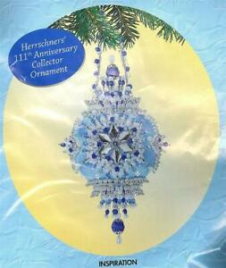Herrschners INSPIRATION Beaded Ornament Kit 111th Anniversary Collector Orn  NEW