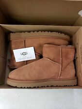 UGG Australia Classic Mini II Winter Boots for Women, Size 5 US - Chestnut