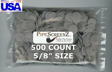 "500+ Count 5/8"" Stainless Steel Pipe Screens HIGHEST QUALITY - MADE IN USA!"