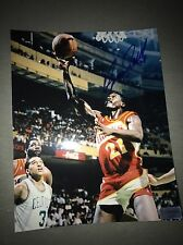 Atlanta Hawks Dominigue Wilkins Signed 8x10 Picture