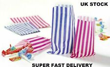 More details for candy stripe paper bags gift shop party cake sweet treat super fast delivery