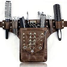 Peluquería Tijeras Bolsa de Cintura Cinturón de herramientas-Stud por KASSAKI en marrón