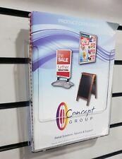 A4 Leaflet/Brochure Holder Wall mounted/Slatwall