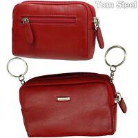 PICARD Damen-Schlüsseletui rot Schlüsseltasche Schlüssel Mappe Hülle Etui Leder