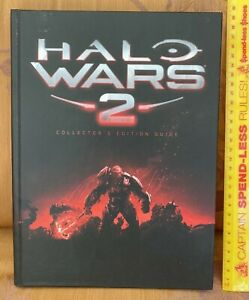 HALO WARS 2 DELUXE COLLECTOR'S ED. HARDCOVER STRATEGY GUIDE XBOX 360 LIKE NEW!!!