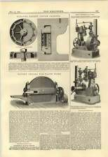 1884 Hett Brigg Pompe Taylor Piston emballage Lewis Foundry Pittsburgh Rotary elle