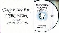 KATIE MELUA Dreams On Fire 2016 UK 3-track promo CD