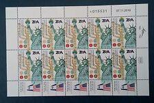 Israel 2017 120years of the Zionist Organization of America.10stamp irregul. MNH