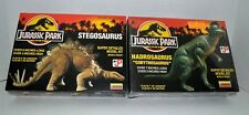 Jurassic Park (The Movie) Stegosaurus & Hadrosaurus *1993* Model Kit Set of (2)