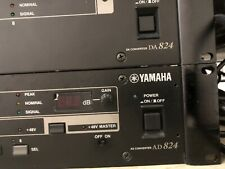 Yamaha AD824 Precision  DA Converter Rack Mountable MY Card Not Not Included.