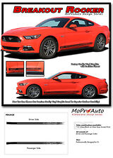 2015-2017 Ford Mustang GT V6 BREAKUP Digital Print Decals 3M Pro Stripes PDS3438