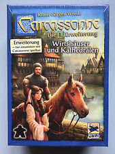 Carcassonne Expansion - Inns & Cathedrals New Edition, New with English Rules
