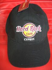 HRC hard rock cafe Cyprus Chipre Black Classic basecap New NWT