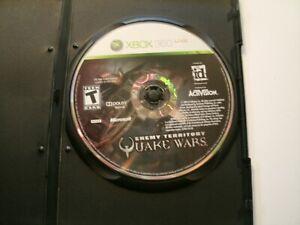 Enemy Territory: Quake Wars (Microsoft Xbox 360, 2008)