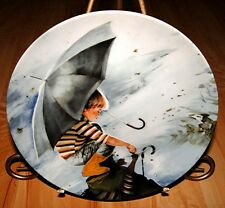 THE WONDER OF CHILDHOOD Donald Zolan TOUCHING THE SKY Plate