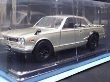 NISSAN Skyline 2000 GTR KPGC10 1970 1/24 Big Scale Box Mini Car Display Diecast