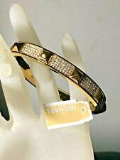 Bracelet w Crystal Embellishment Mkj3822710 Nwt Michael Kors Studded Gold Plated