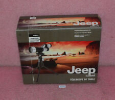 Jeep Elements Desk Top Telescope 15X Magnification Fully Coated.