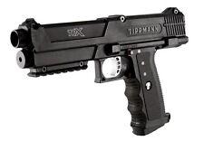 New Tippmann TIPX Pistol Tactical Black Woodsball Mil Sim Paintball Gun Marker