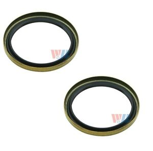 Pair Set of 2 Front Inner WJB Wheel Seals Kit for Ford E-250 Econoline F53 F59