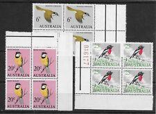 More details for australia 1966-73 birds mnh blocks (7)
