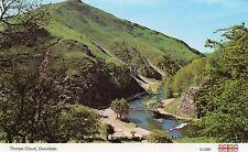 Derbyshire - Dovedale, Thorpe Cloud - Vintage Postcard