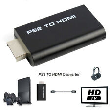 For Sony Playstation 2 PS2 to HDMI Converter Adapter Cable HD USB for PSX PS4
