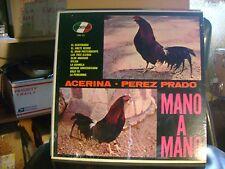 STILL SEALED LATIN MAMBO ? BOOGALOO LP~PEREZ PRADO~MANO A MANO~ACERINA &