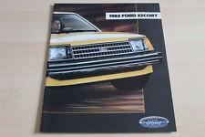 112964) Ford Escort - USA - Prospekt 08/1982