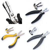 Tool Professional Hair Extension Plier Keratin Bonding Micro Rings Removal Plier