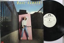 Rock Promo Lp Dave Lambert Framed On Polydor