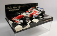 MINICHAMPS F1 1/43 Scale - 400 040086 PANASONIC TOYOTA RACING SHOWCAR C.DA MATTA