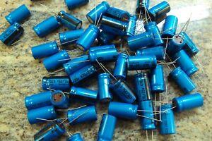 2Q ~~ 50-Qty NICHICON Capacitors 470UF 35V  ~~