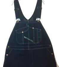 Key Imperial Denim Carpenter Overalls 44 Dark Wash Aristocrat Rockabilly Jeans