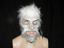 White Warrior Mask With Hood  Zagone Studios.UK Stock,Video Clip.