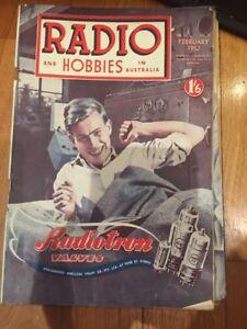 Radios And Hobbies In Australia February 1952 Vol 13 No 11