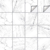Tile Stickers Transfers Marble Kitchen Bathroom Various Sizes & Custom - M10