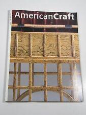 American Craft Magazine- April/May 1997