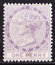 Dominica 1886 QV 1d lilac, fine mint cv £60