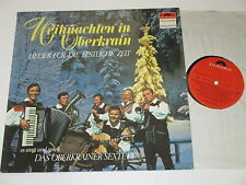 LP/WEIHNACHTEN IN OBERKRAIN/OBERKRAINER SEXTETT/FILIPLIC/KORBAR/Polydor 63419 Cl