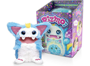 Rizmo Evolving Musical Friend Interactive Plush Toy with Fun Games Aqua Ages 6+